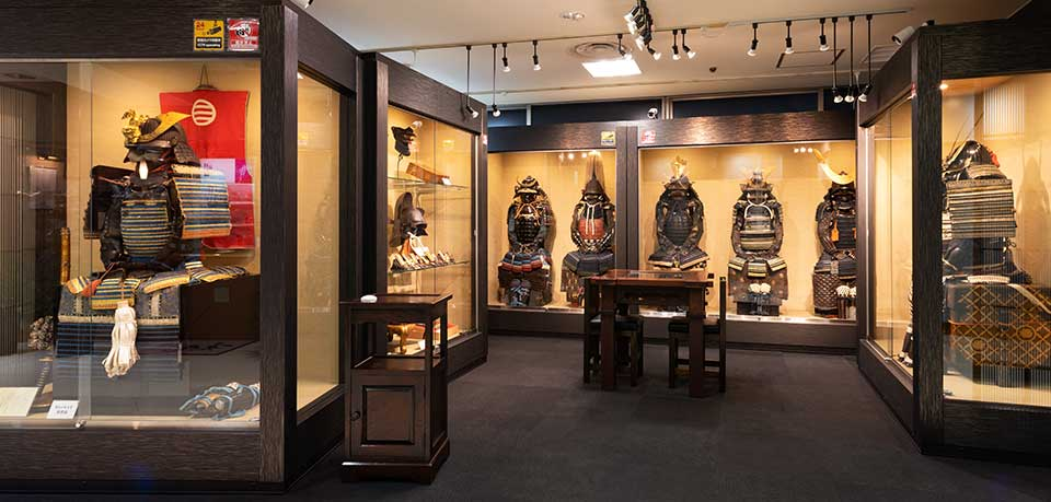 There is many Japanese Armor in our shop